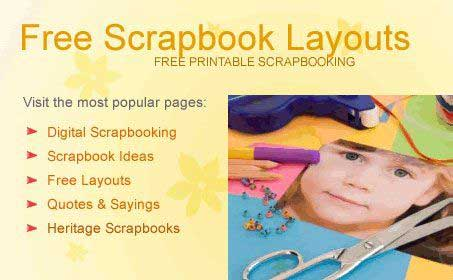 scrapbook freebies